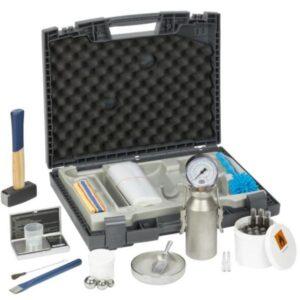 Hydromat CM Standard este un instrument pentru determinarea umidității materialelor de construcții întărite și a altor materiale utilizând metoda carburii de calciu.