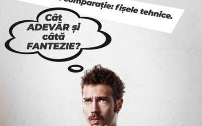 Achiziția prin comparație: fișele tehnice. Cât adevăr și câtă fantezie?